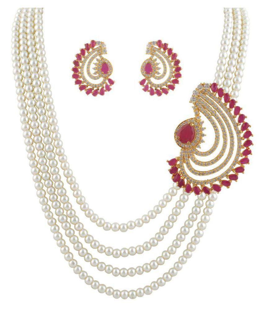 ClassiqueDesigner Beautifully Designed Pearl Set