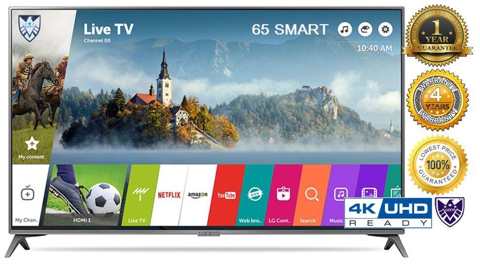 LUCKYO LET 4KR65S7 165 cm ( 65 ) HD Plus LED Television