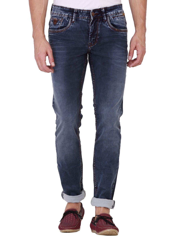 KOZZAK Blue Super Skinny Jeans