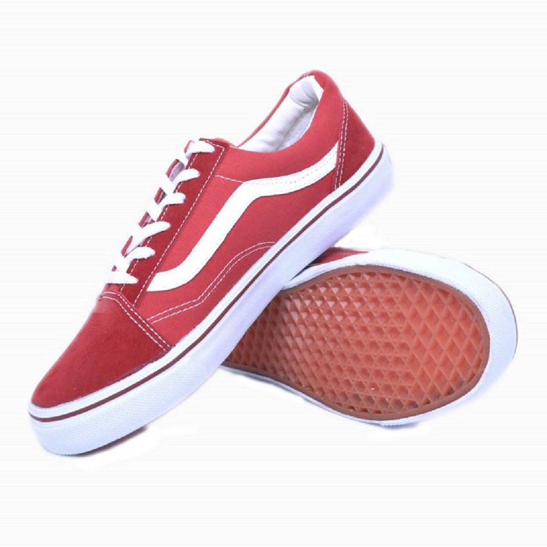 66e4db27f95 Vans Fashion old skool Sneakers Red Casual Shoes - Buy Vans Fashion old  skool Sneakers Red Casual Shoes Online at Best Prices in India on Snapdeal