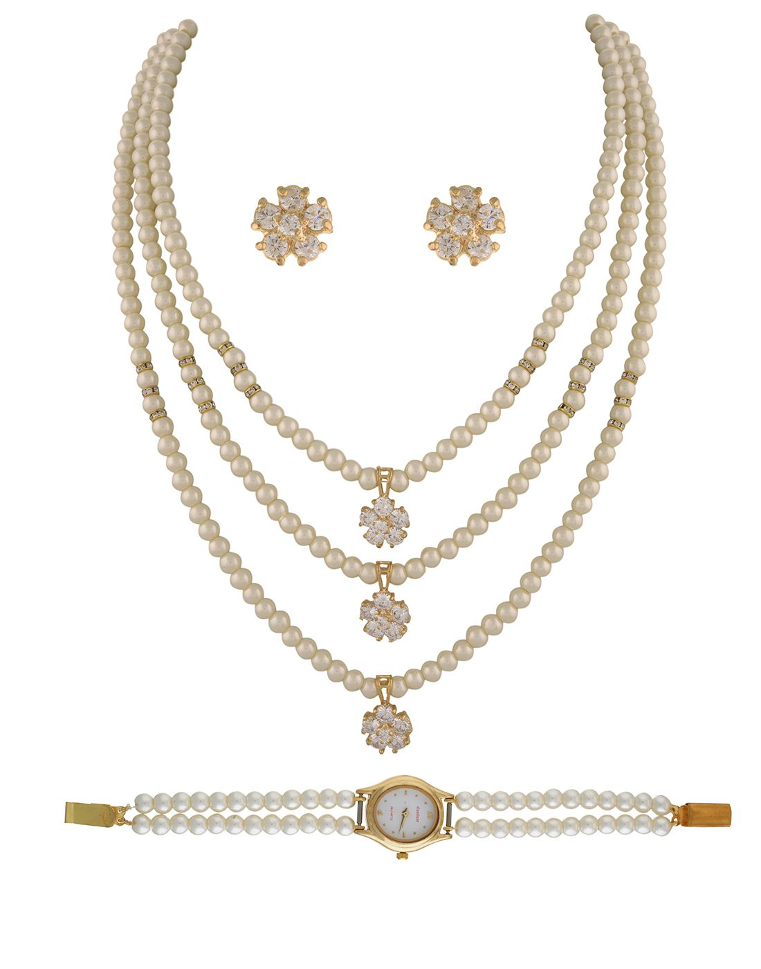 Classique Designer Jewellery Alloy Jewel Set  (Multicolor)