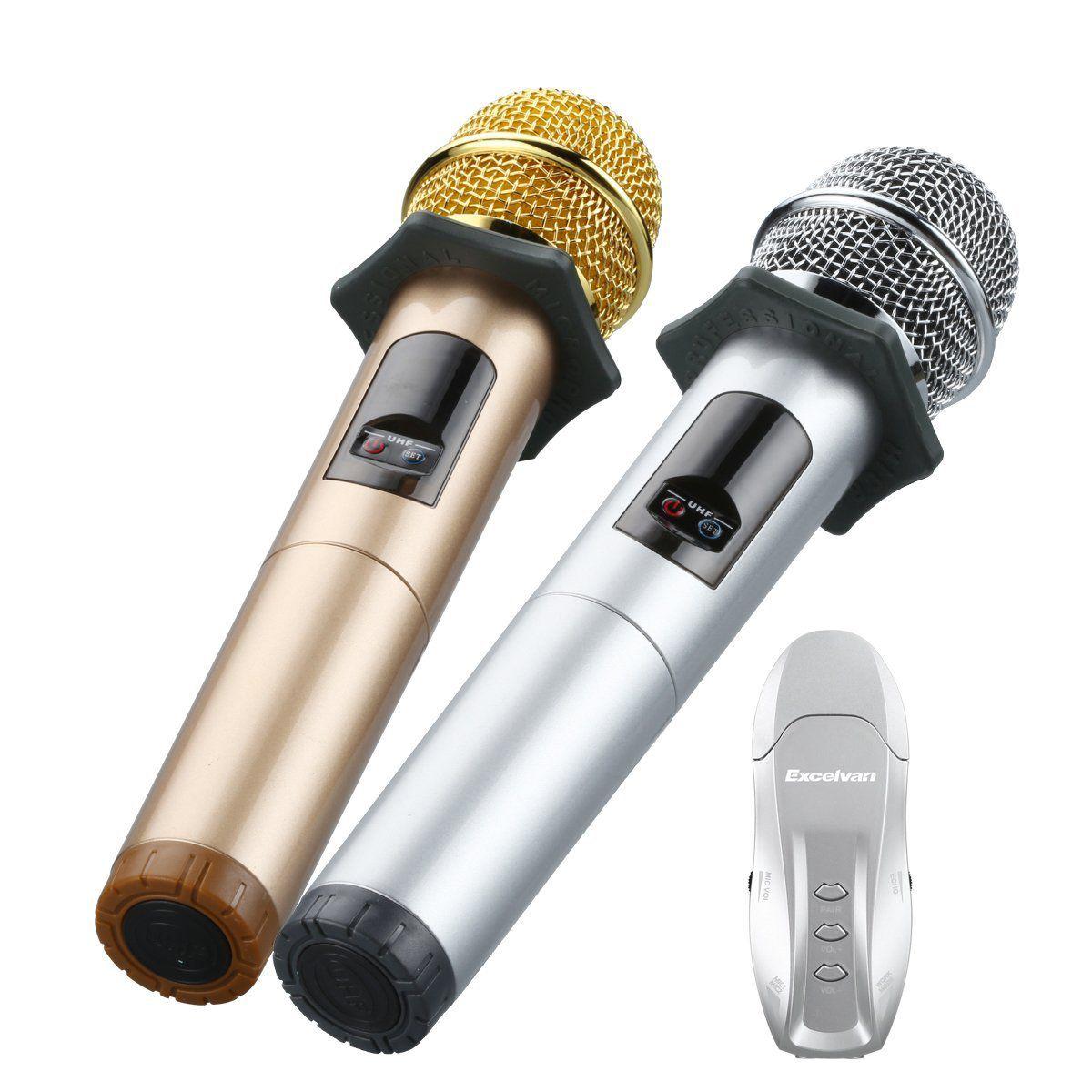 Wireless Handheld Microphone, Excelvan K18U Bluetooth