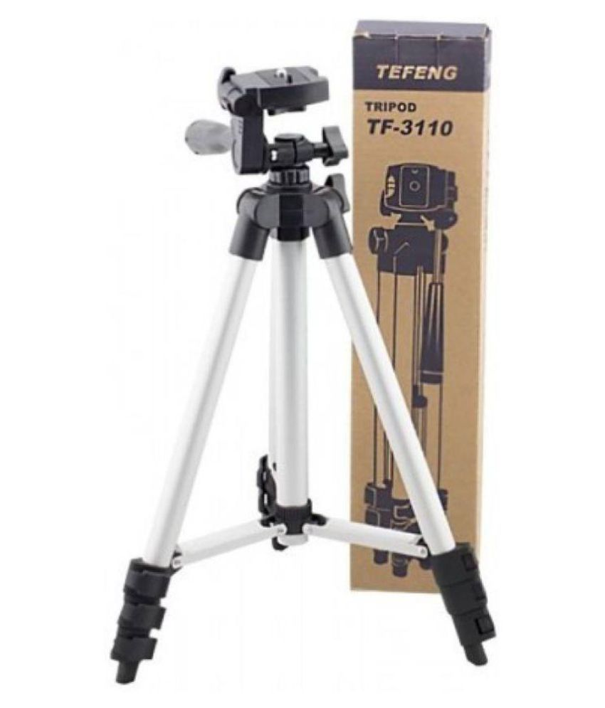 Doodads Silver Tripod stand for Mobile & Camera and Tik Tok Videos