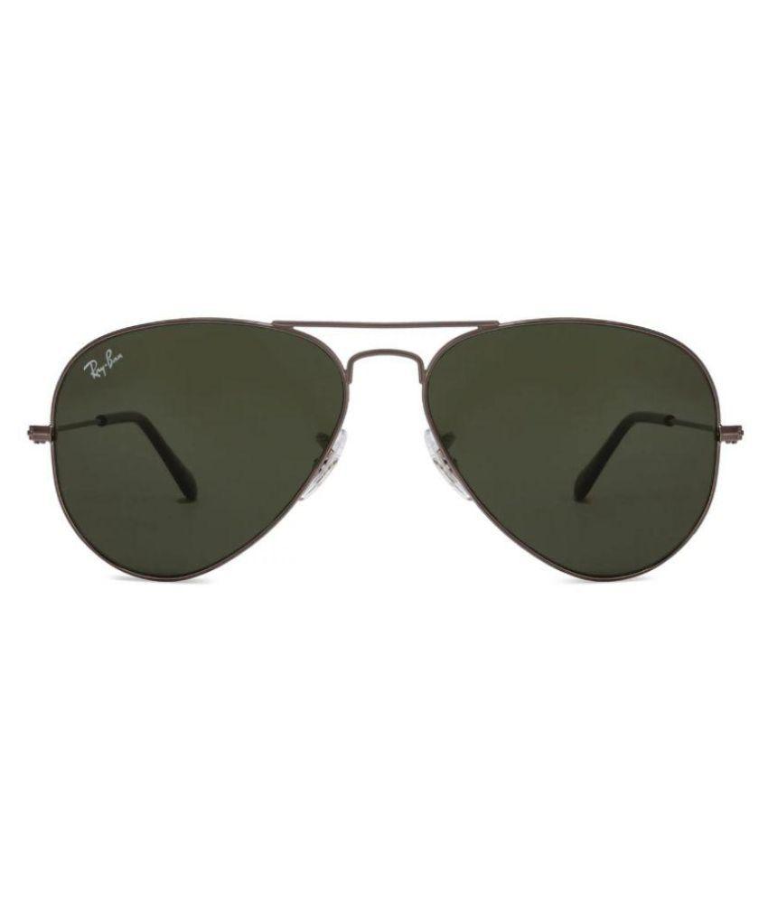 edce40677b9cb ... Ray Ban Sunglasses Black Aviator Sunglasses ( RB3025 002 58 58-14 ) ...