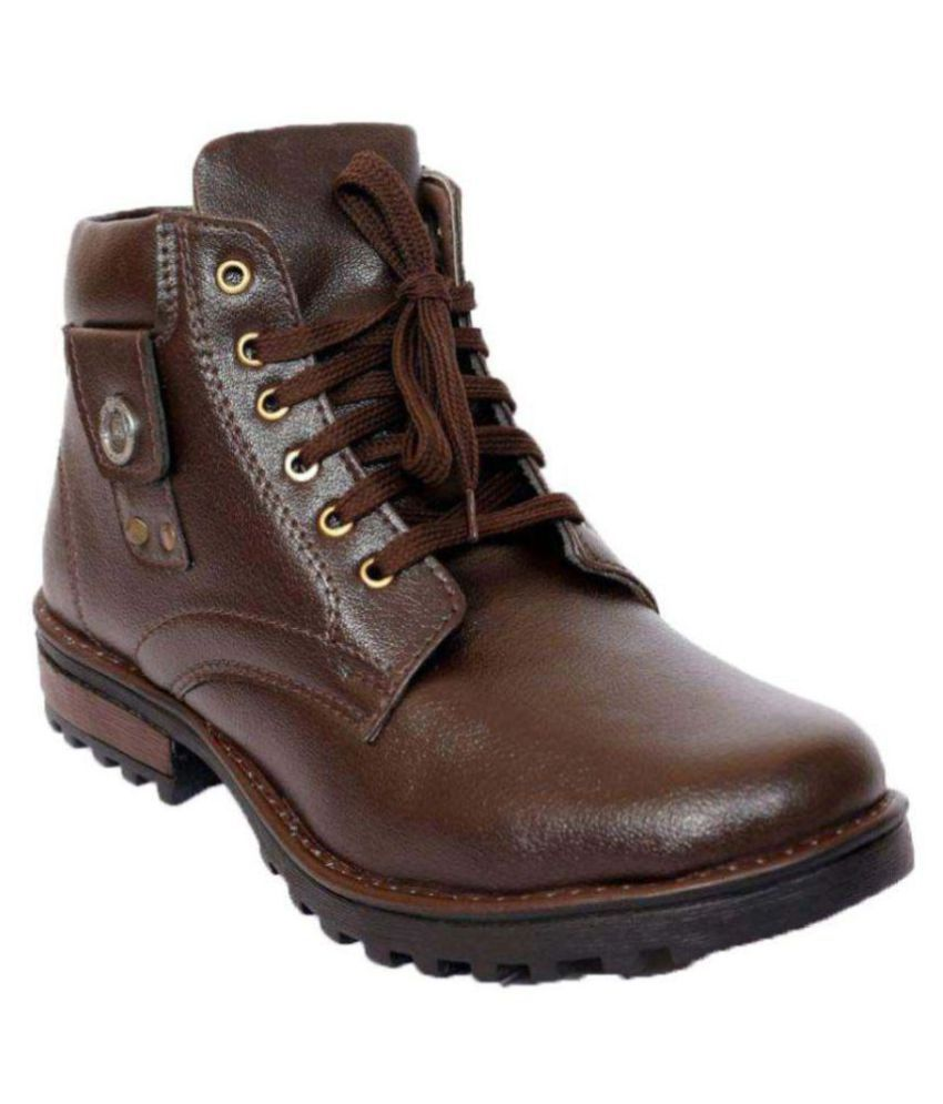 DLS  Brown Casual Boot