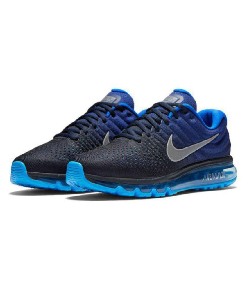 Nike AIR Max 2017 Blue Running Shoes