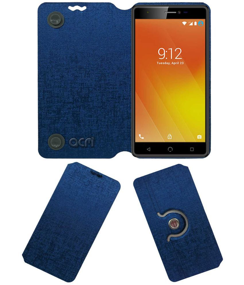 Nuu M3 Flip Cover by ACM - Blue
