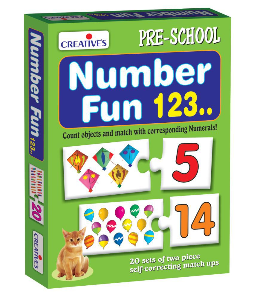 Creatives Multicolour Number