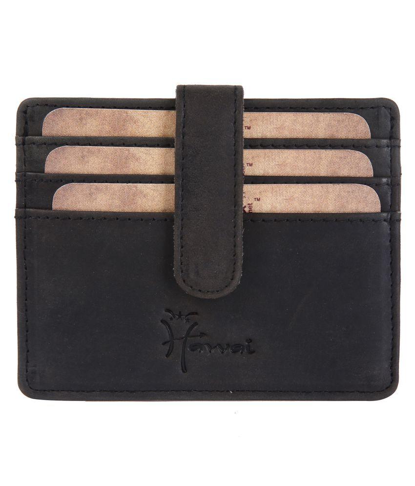 Hawai Leather Brown Casual Regular Wallet