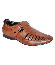 Pollo Tan Designer Shoe