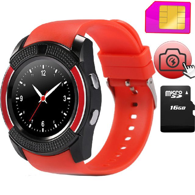 M-STARK V9 Smartwatch suitable  for Moto X Play Smart Watches