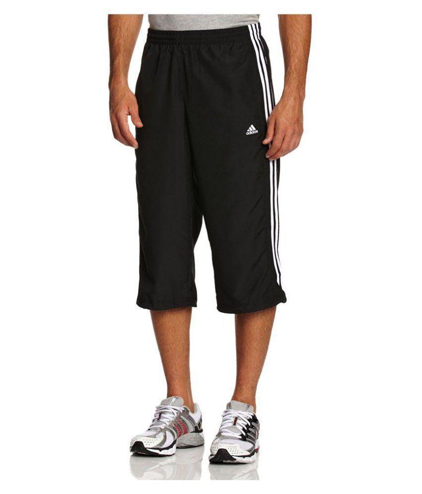 Adidas Black 3/4ths