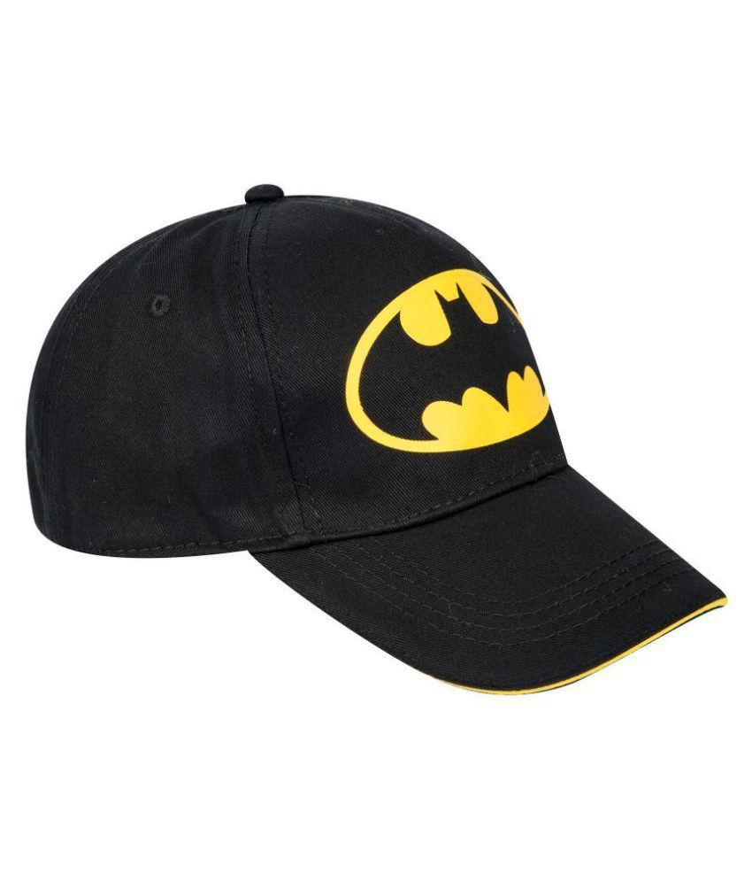 YUNEEK Black Polyester Caps