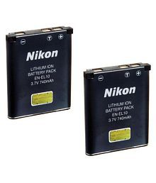 Nikon EN-EL10 740 Rechargeable Battery 2