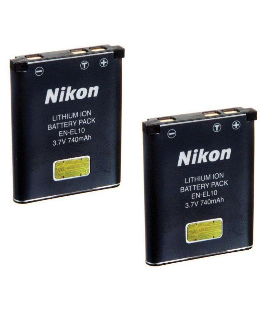 Nikon EN EL10 740 Rechargeable Battery 2