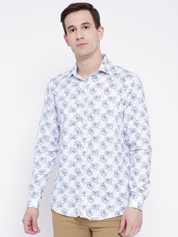 DENNISON White Slim Fit Shirt