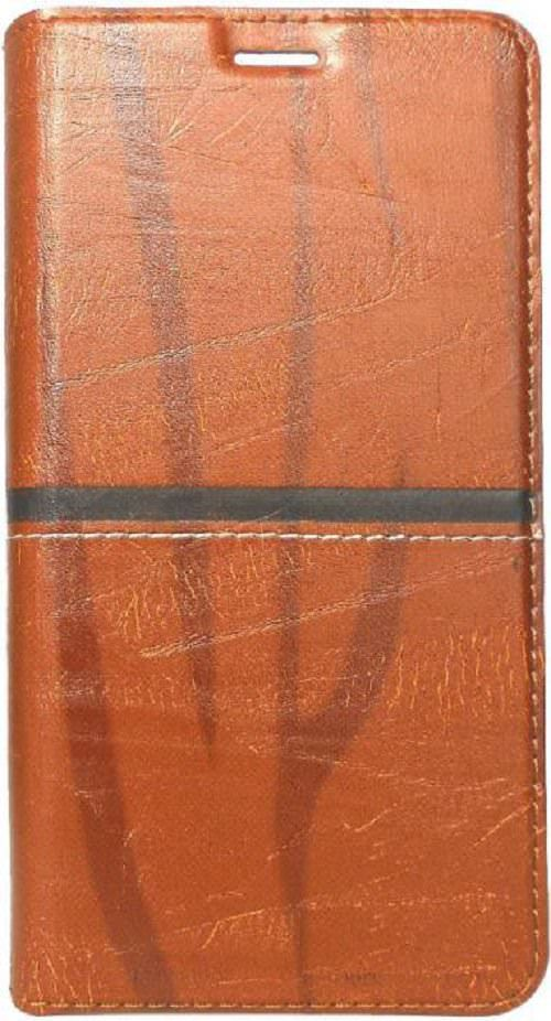 Nokia 2 Flip Cover by Kosher Traders - Brown Richboss