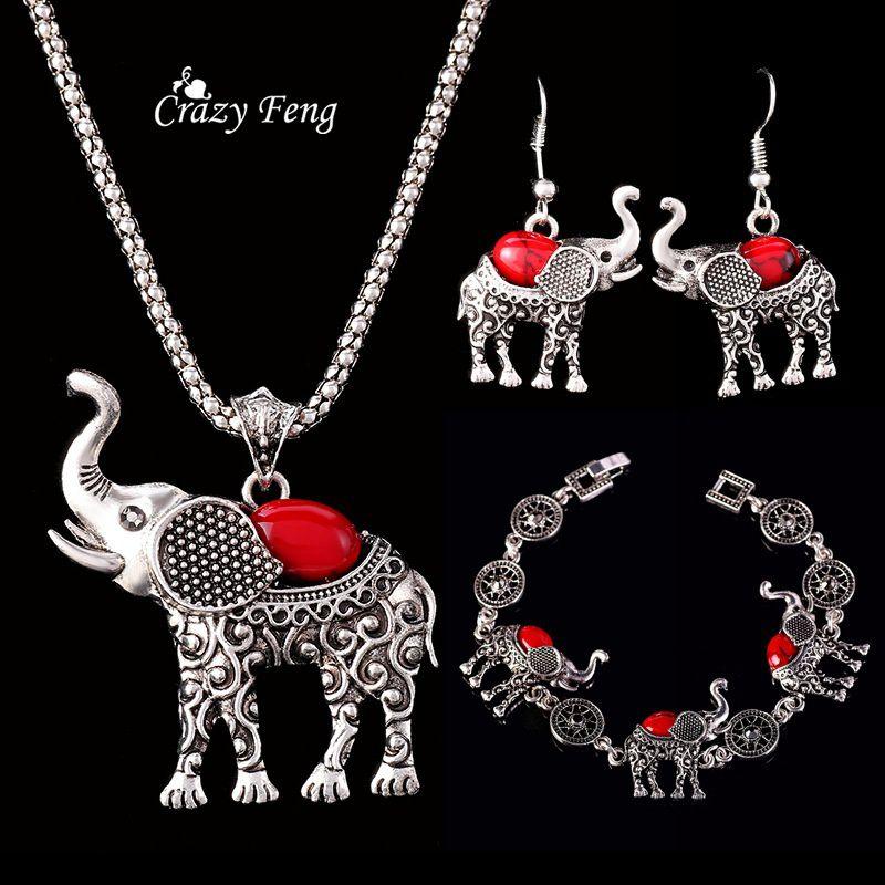 Women's Elephant Pendant Necklace