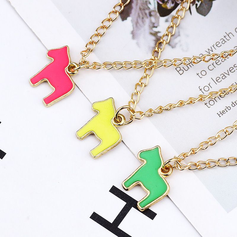 Colourful pony Necklace