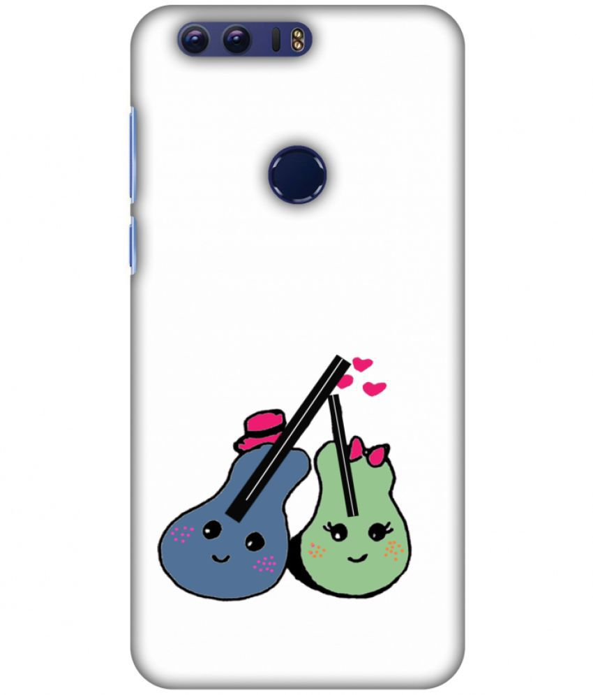 Huawei Honor 8 Printed Cover By Amzer