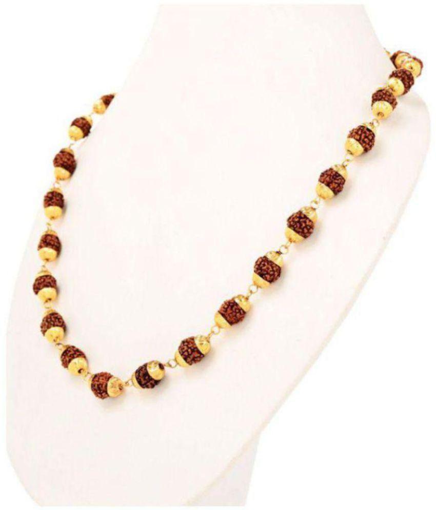 Loard Shiva Pure Rudrakash Mala- Pack of 1