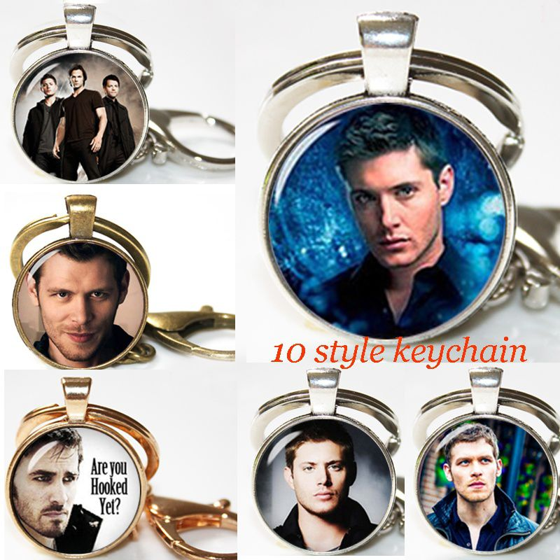 Supernatural Key Ring Keychain Supernatural Keyfob Dean Winchester Geeky Gifts