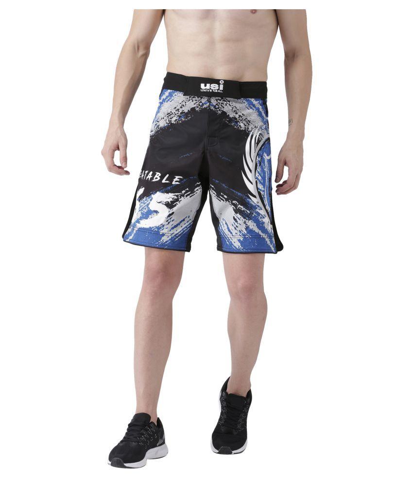 USI Universal Black And Blue Training Shorts
