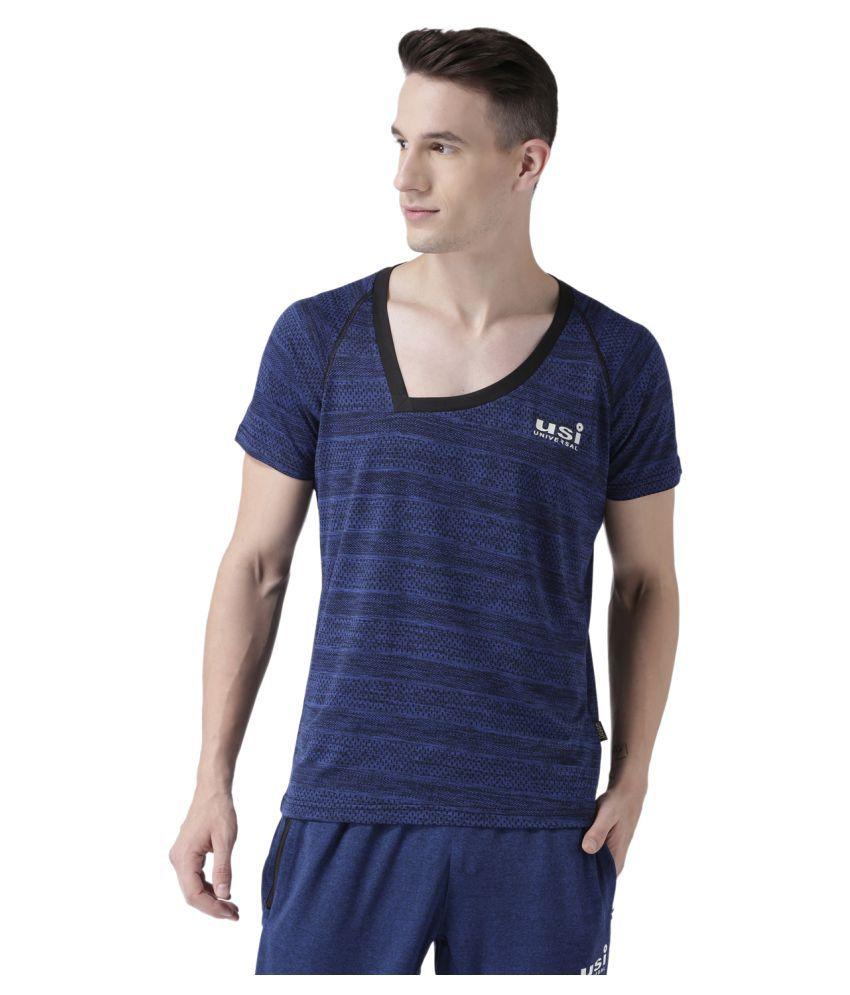 USI Universal Blue Training T-Shirt