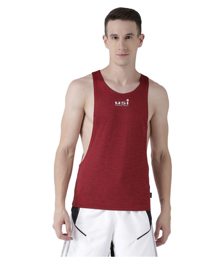 USI Universal Red Training Vest