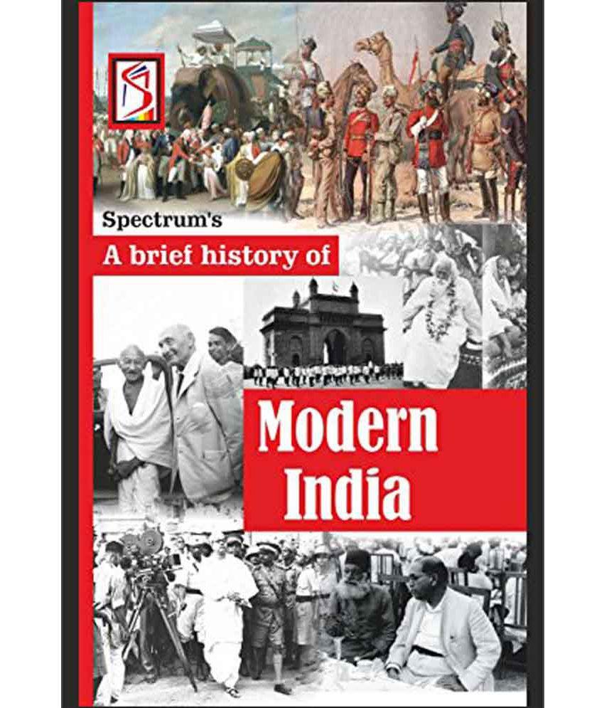 A Brief History Of Modern India 17th Edition (English, Paperback, Rajiv Ahir, Kalpana Rajaram)