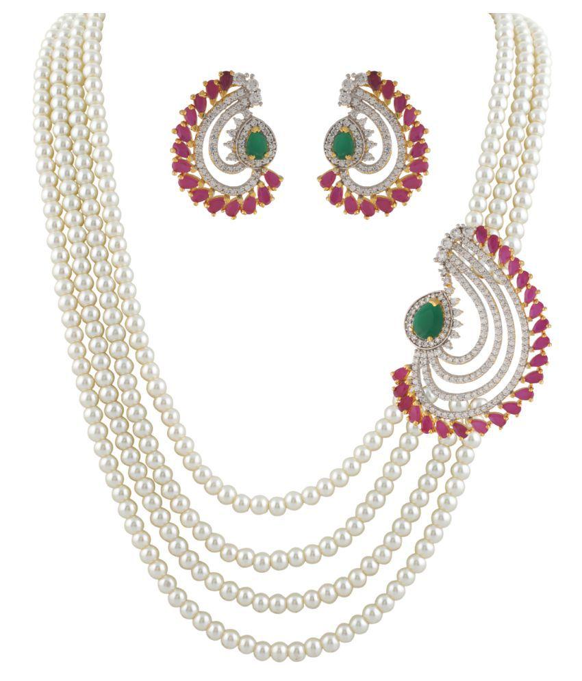 ClassiqueDesigner Round Shape Pearl Set (cp1324)