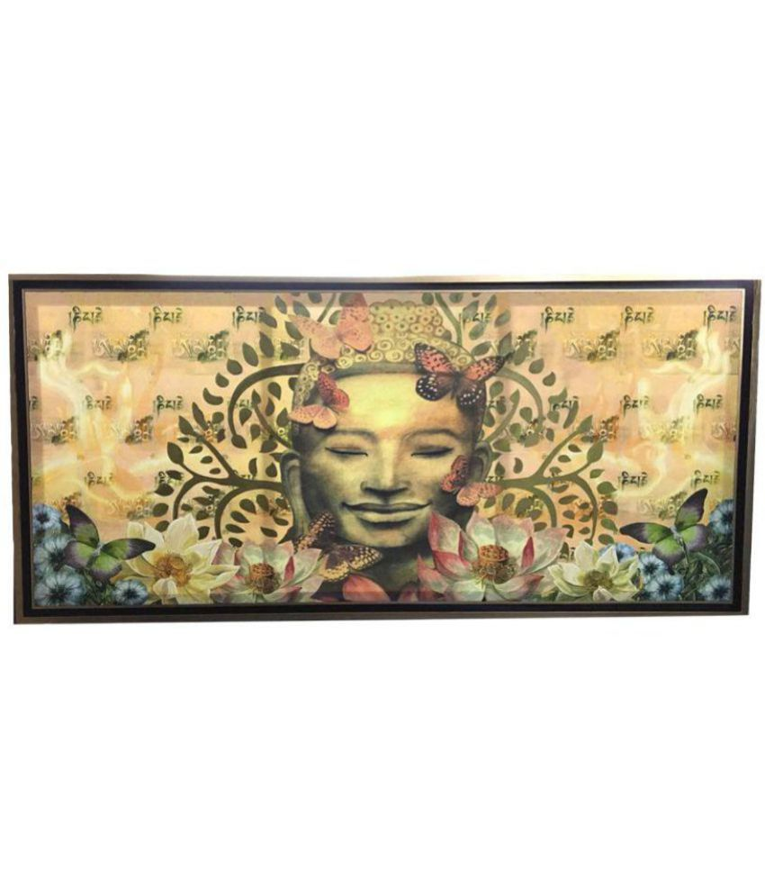 Antaram Designs The Shakyamuni Canvas Painting Without Frame