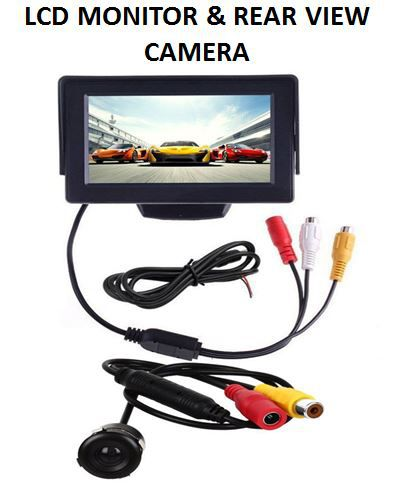 autoparx 4 3 inch tft car lcd monitor camera only lcd display buy rh snapdeal com