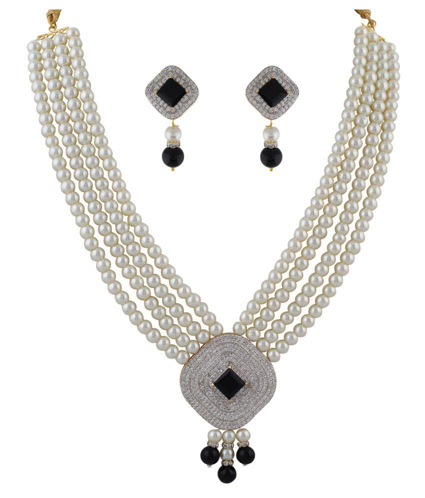 ClassiqueDesigner Ring Shape Pearl Set (cp1341)
