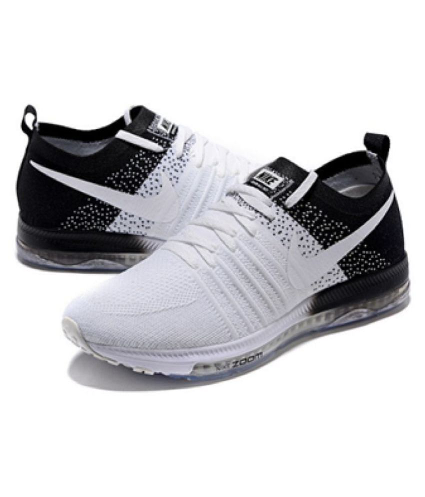78a359adcf616 Nike Zoom All Out Flyknit White Running Shoes - Buy Nike Zoom All ...