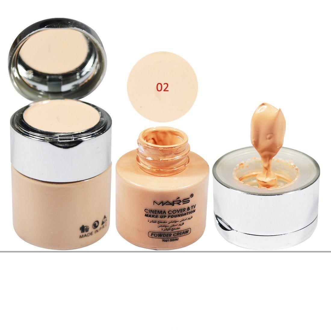 Mars Cinema Cover & TV Make-up 02 Liquid Foundation Beige 50 ml