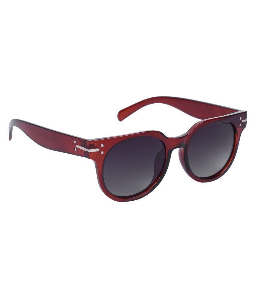 Hawai Blue Round Sunglasses ( EWW00458 )