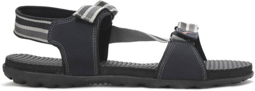 b6ecea01e4a8 Puma Men Sports Black Sandals Price in India- Buy Puma Men Sports ...