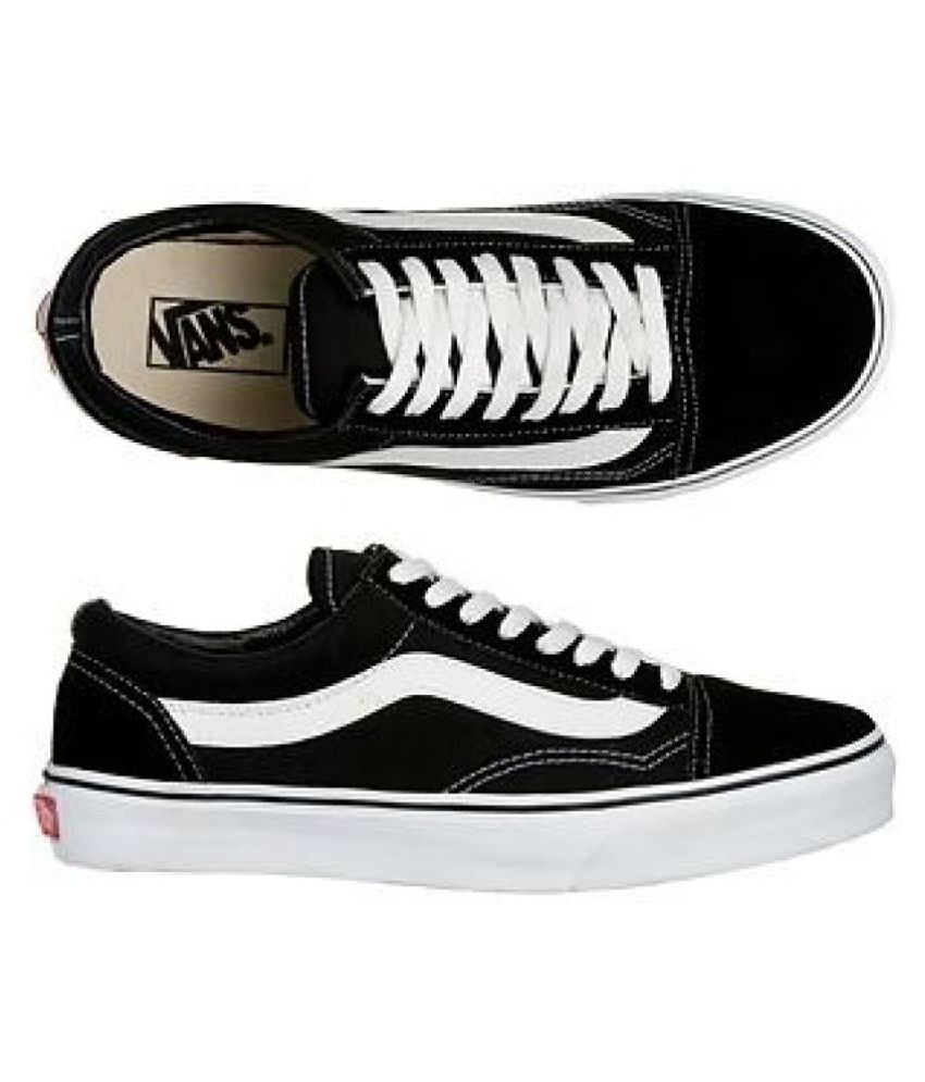 c888ef5c6a VANS OLD SKOOL Black Casual Shoes - Buy VANS OLD SKOOL Black Casual Shoes  Online at Best Prices in India on Snapdeal
