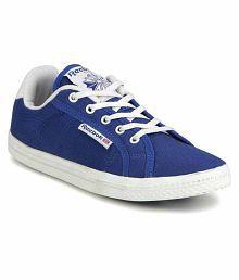 REEBOK M45324 KIDS BOY BLUE CANVAS CASUAL SHOE UK 13.5.