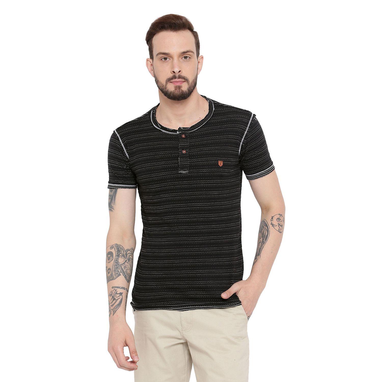 Duke Black Henley T-Shirt
