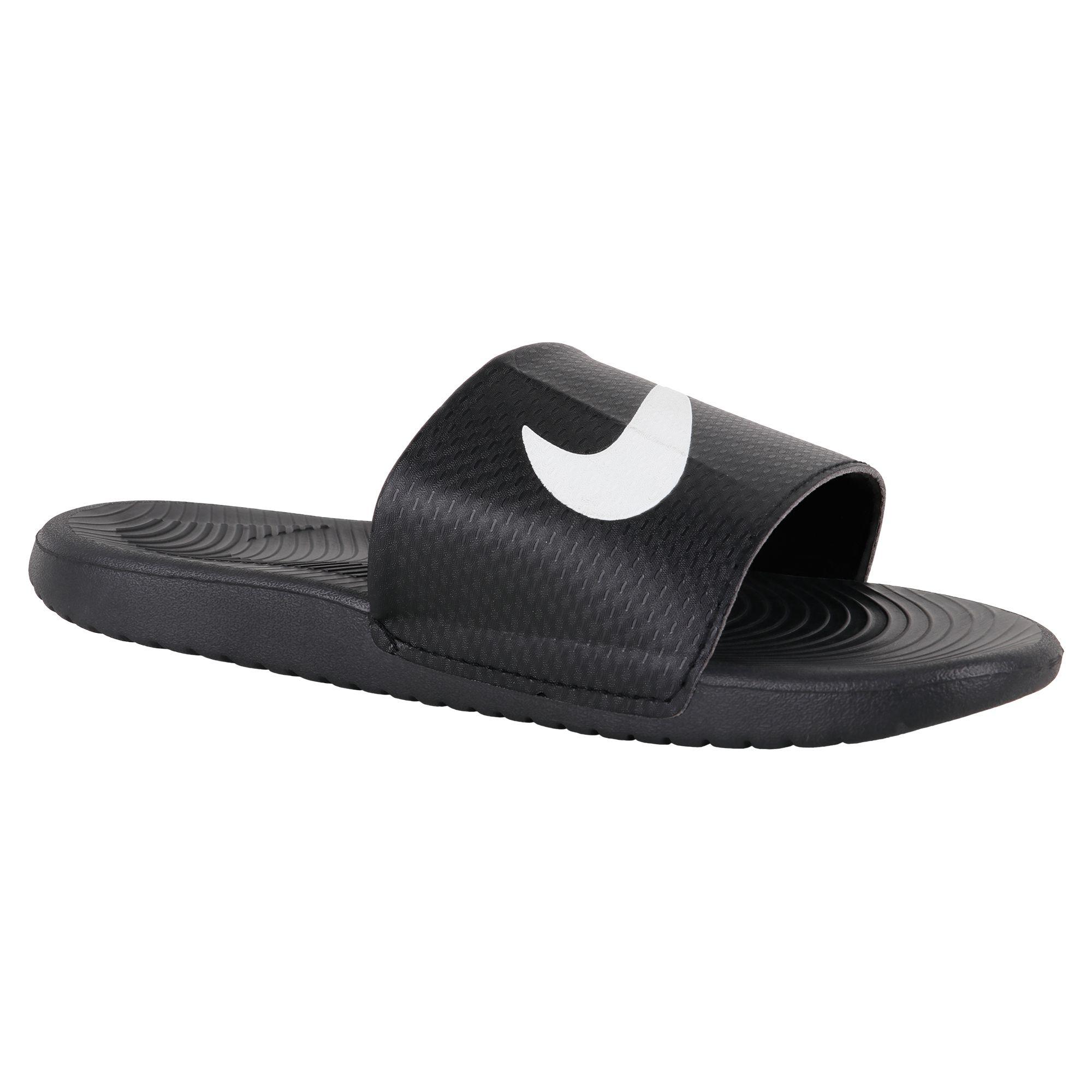 Nike Black Daily Slippers Price in