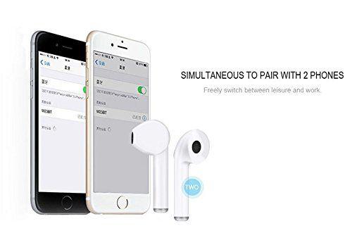 73d0cdf4c68 ... Rewy HBQ i7 TWS Wireless EDR+V4.1 Bluetooth Headset - White ...