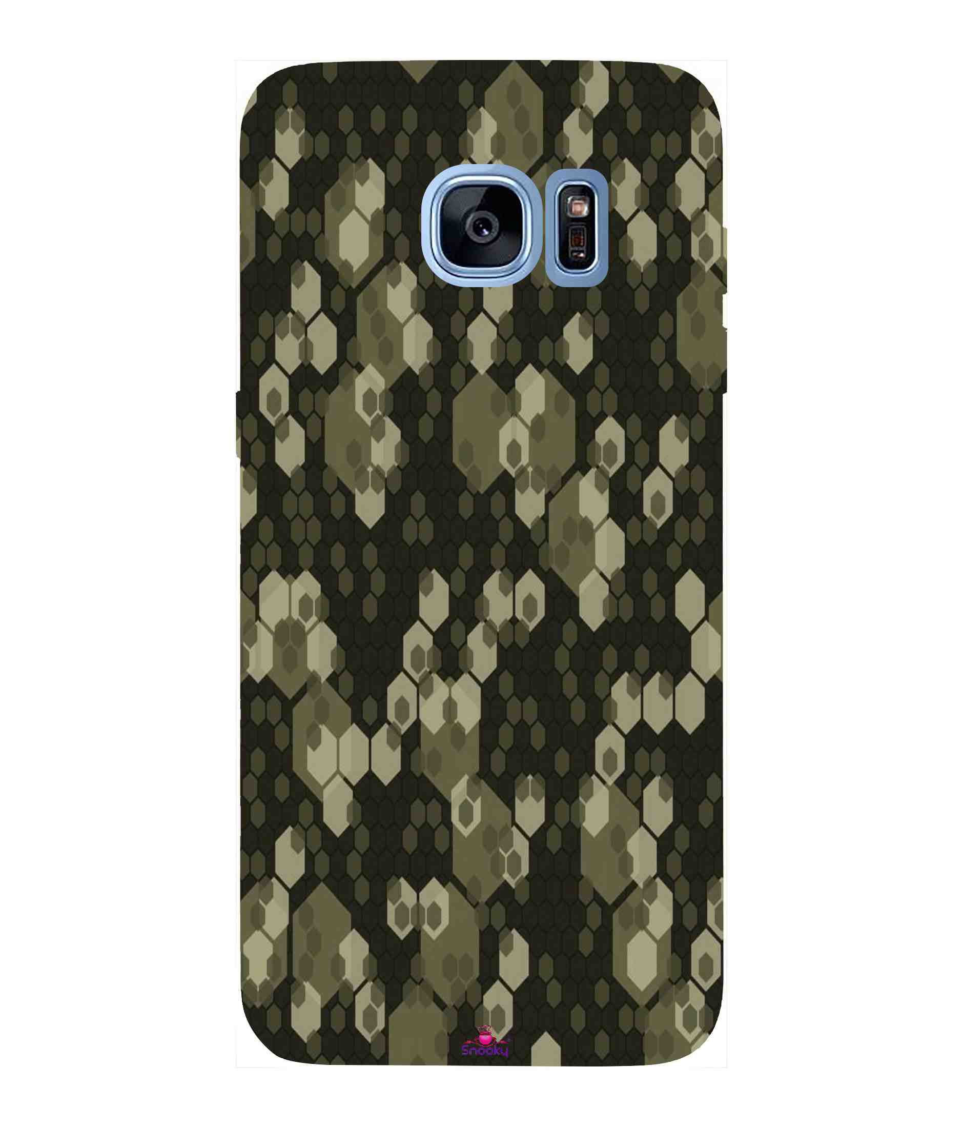 Samsung Galaxy S7 Edge Printed Cover By Snooky