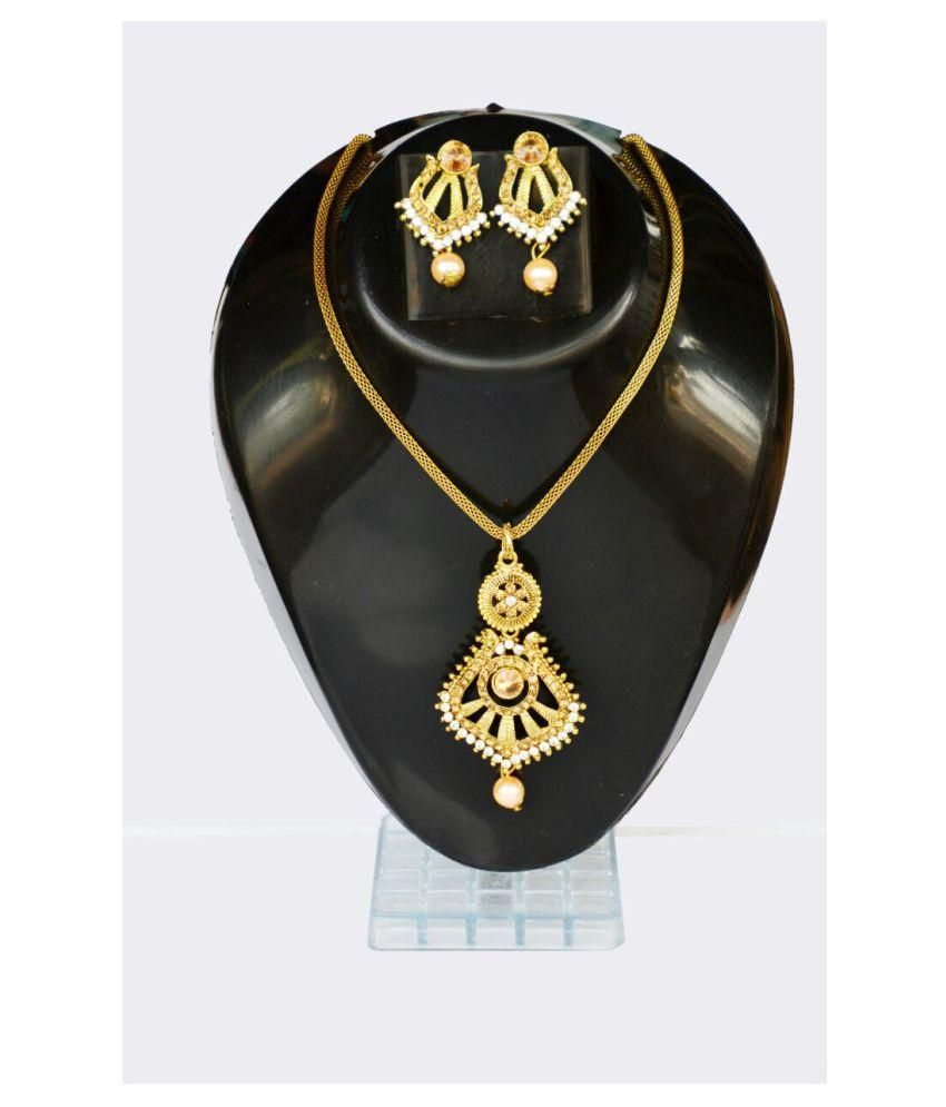 golden Necklace jwellary set