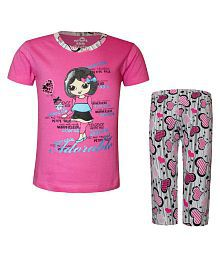 0a92a6cc58 Girls Nightwear  Buy Girls Nightwear   Suits Online for Best Prices ...