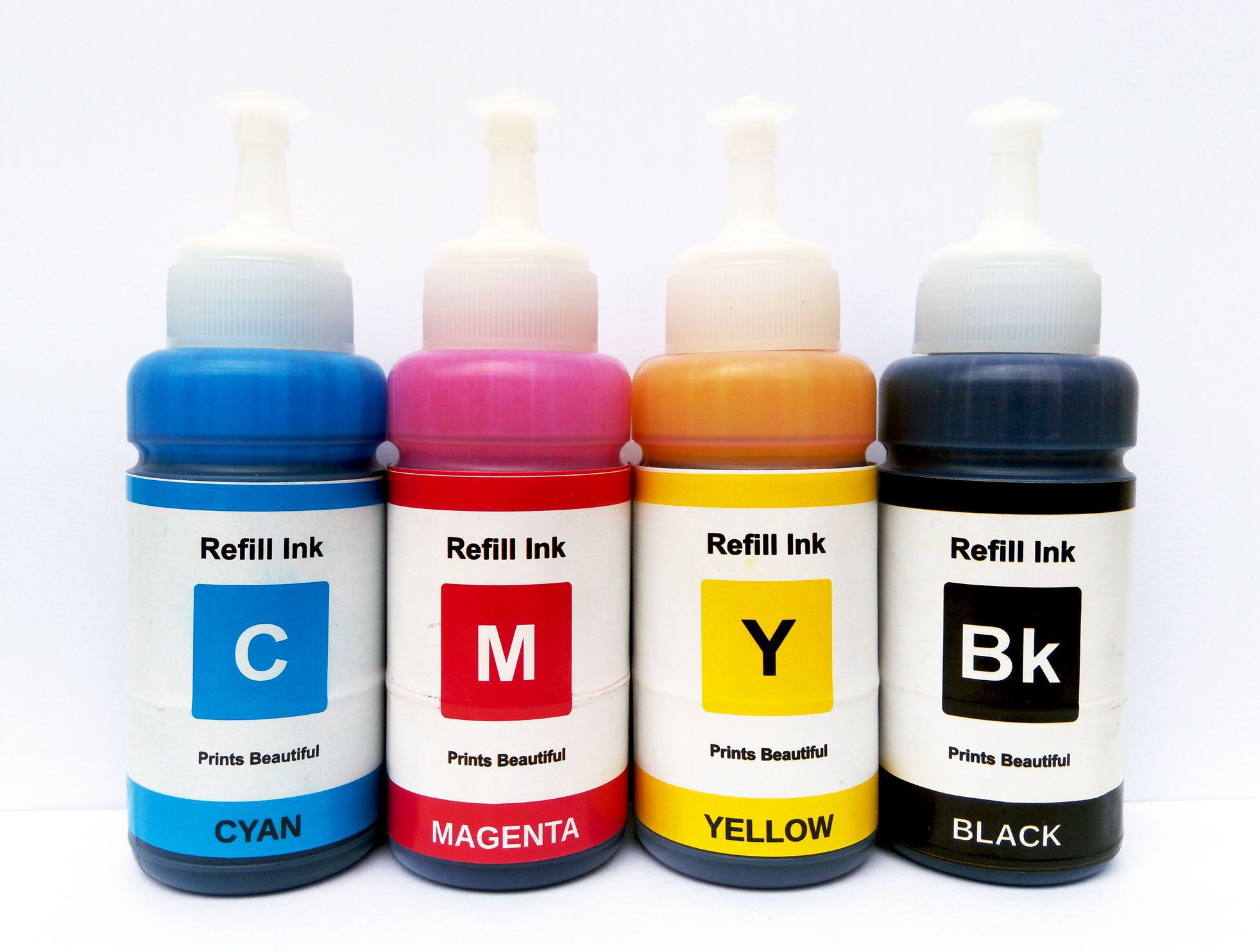 White Sky Epson L655 Refill CMYK Combo Pack Ink Pack of 4 - Buy