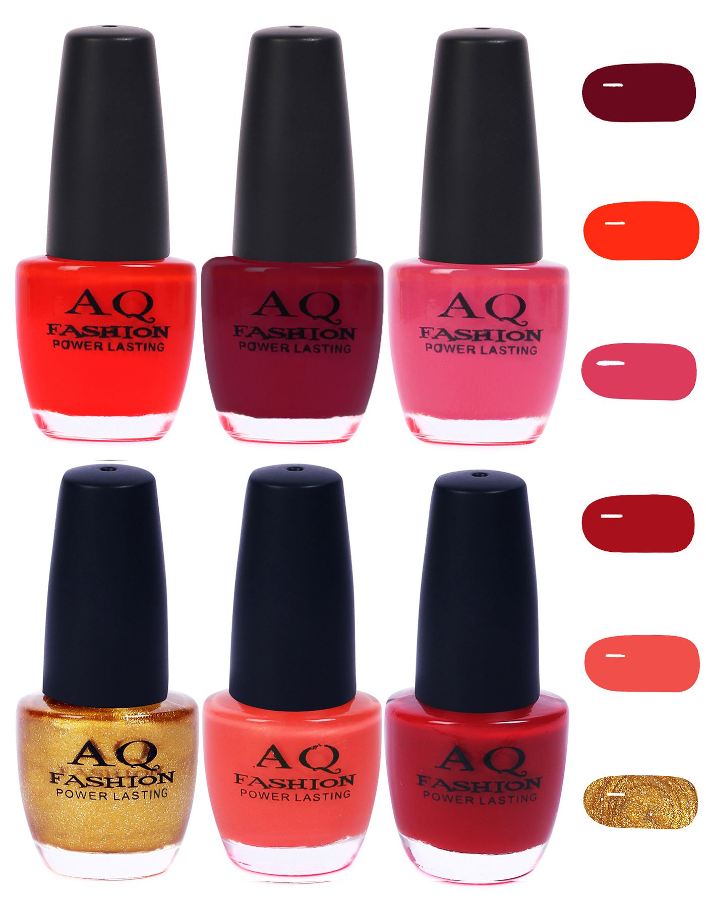 AQ Fashion Nail Polish Classic Shades Matte 72 ml