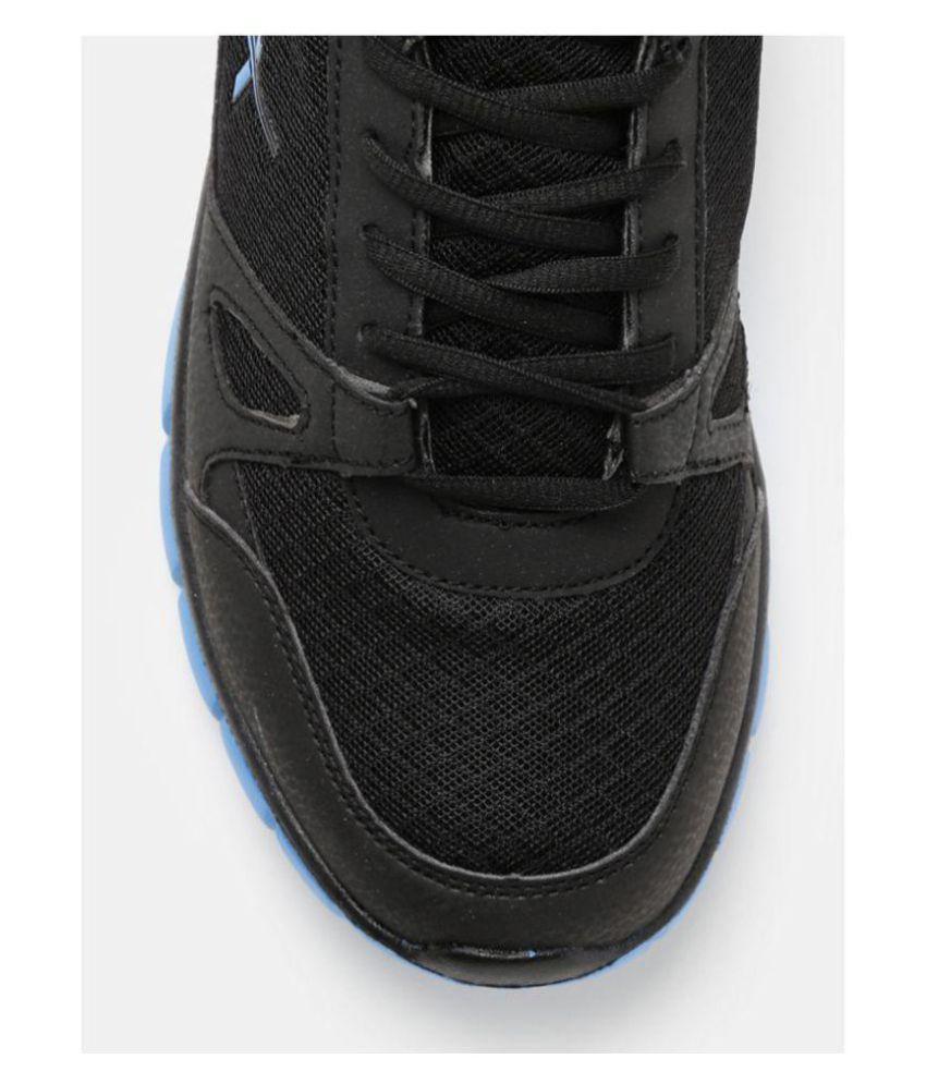 HRX Men Black Running Shoes