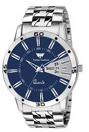 Fadiso Fashion Abx-1157-Silver Analog Watch - For Men